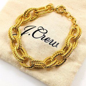 NEW J Crew Chunky Chain Bracelet